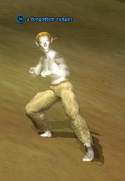 A forgotten ranger