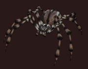 Black Spider Plushie (Visible)
