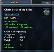 Chain Fists of the Ettin