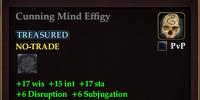 Cunning Mind Effigy