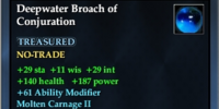 Deepwater Broach of Conjuration