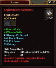 Legionnaire's Sabatons