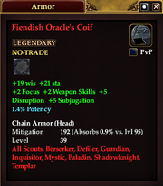 Fiendish Oracle's Coif
