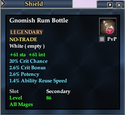 Gnomish Rum Bottle