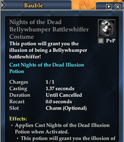 Nights of the Dead Bellywhumper Battlewhiffer Costume