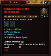 Venerable Pants of the Stormbringer