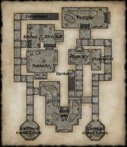 Map of Crushbone Keep Ground Floor