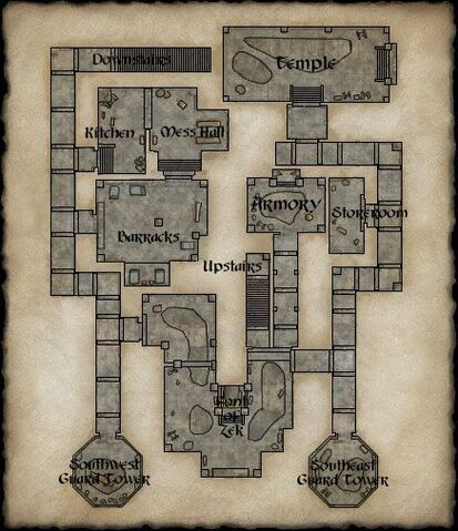 File:Map of Crushbone Keep Ground Floor.jpg