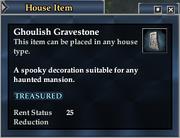 Ghoulish Gravestone
