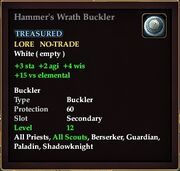 Hammer's Wrath Buckler