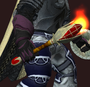 Mace of Red Scales (Equipped)