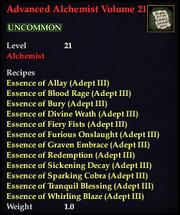 Advanced Alchemist Volume 21