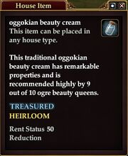 Oggokian beauty cream