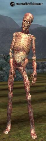 An undead farmer