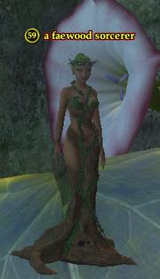 A faewood sorcerer