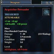 Acquisitor Persuader