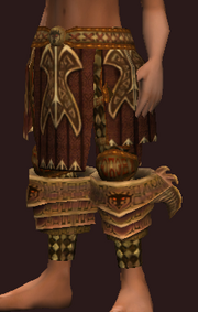 Elysian Chausses of the Animist (Equipped)