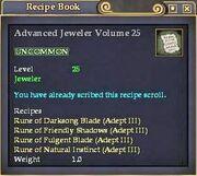 Advanced Jeweler Volume 25