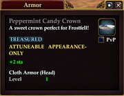 Peppermint Candy Crown