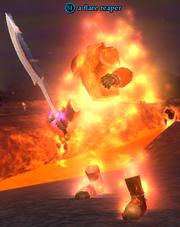 A flare reaper