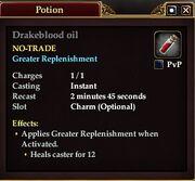 Drakeblood oil
