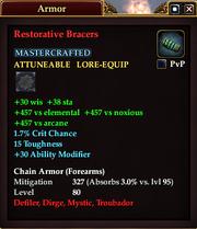 Restorative Bracers