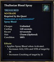 Thullosian Blood Spray