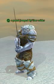 A portal jumped Ry'Gorr raider