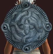 Buckler of Frozen Drakefire (Equipped)