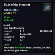 Blade of the Protector
