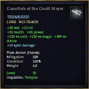 Gauntlets of the Gnoll Slayer