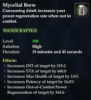 Mycelial Brew