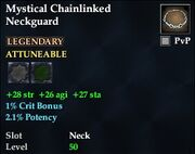 Mystical Chainlinked Neckguard