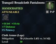 Tranquil Broadcloth Pantaloons