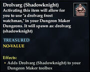 Drolvarg (Shadowknight)