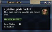 A pristine gukta bucket