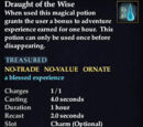 Draught of the Wise (LoN Card)