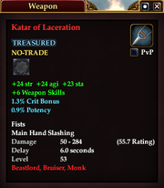 Katar of Laceration
