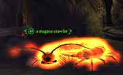 A magma crawler