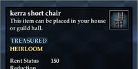 Kerra short chair