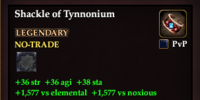 Shackle of Tynnonium (Scout)