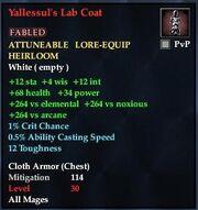Yallessul's Lab Coat