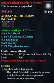 Intact Valiant Psionist's Crown