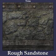 Trim Rough Sandstone