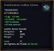 Frontiersman Leather Gloves