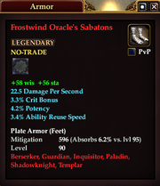 Frostwind Oracle's Sabatons