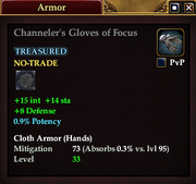 Channeler's Gloves of Focus