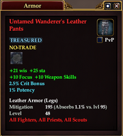 Untamed Wanderer's Leather Pants