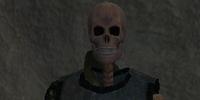 A silent bones dirge
