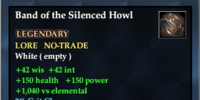 Band of the Silenced Howl